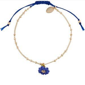 Les Nereides Bracelet Blue Flower